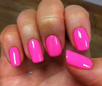 colors that make pink ibeautyboutique nail of the day gelish make you blink pink