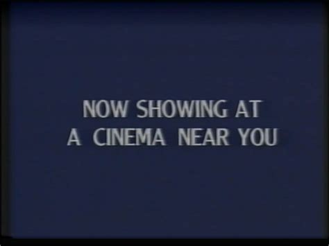 Widescreen Display Now Available On A Near You by Image Now Showing At A Cinema Near You Disney 1991 Id
