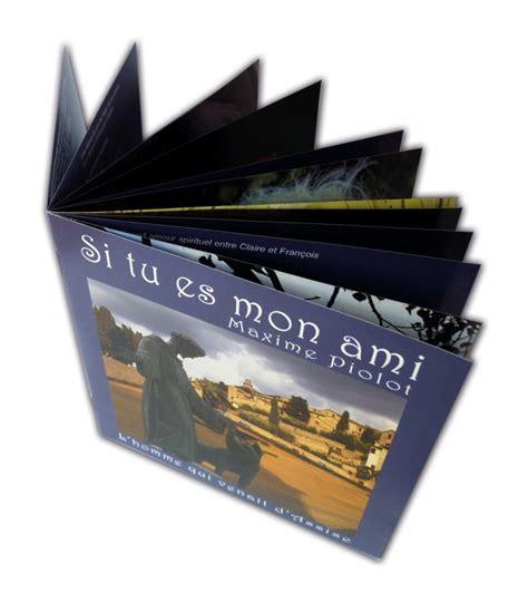 format cd jaquette livret et jaquette au format cd impression tout en couleur