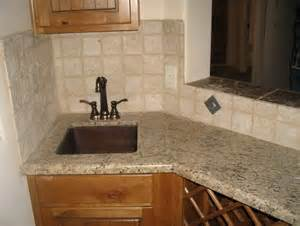 Travertine Tile Backsplash No Grout Home Design Ideas Backsplash Designs Travertine