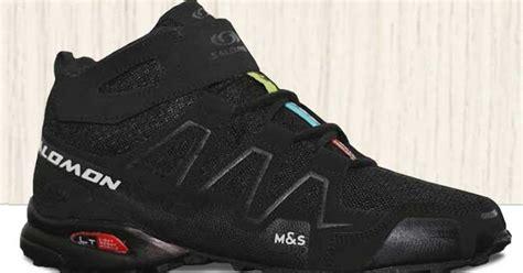 Sepatu Salomon sepatu gunung salomon high hitam sgh 004 omsepatu