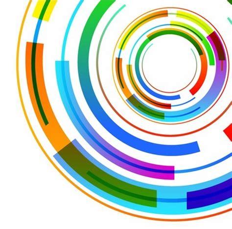 Pesona Wallpaper Dengan Adobe Phothosopcd abstract technology circles vector background free