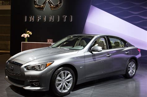 infiniti q50 full 2016 infiniti q50 engine lineup shown in chicago
