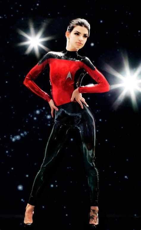 imagenes en latex online check out this sexy skintight star trek latex for naughty