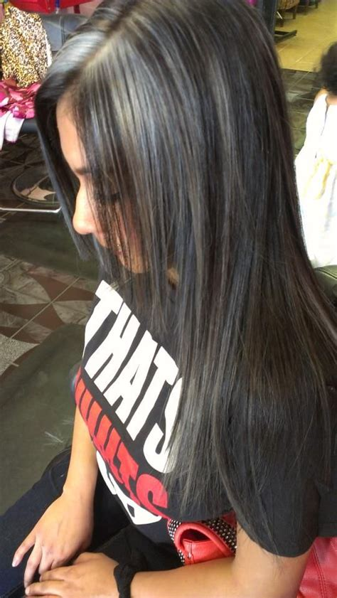 images of silver highlights silver highlights hair pinterest