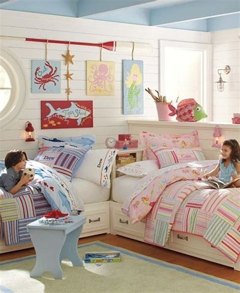 share room 12 blue and pink shared kids rooms kidsomania
