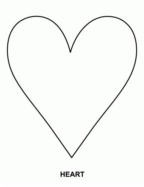coloring page heart shape heart shape coloring page many interesting cliparts