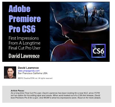 adobe premiere cs6 review manhattan edit workshop s blog adobe premiere pro cs6
