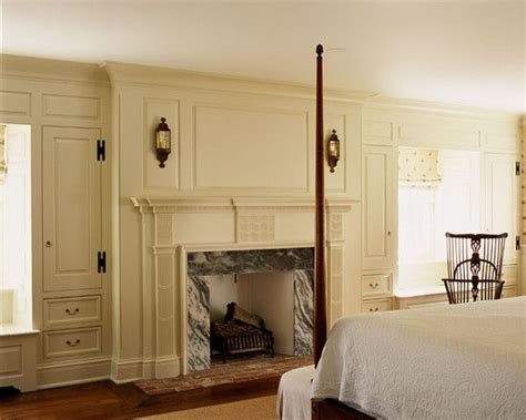 colonial bedrooms colonial bedroom with cream colored raised paneled walls