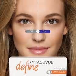 acuvue colored contact lenses shine contact lenses 1 day acuvue define by