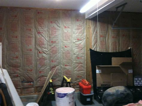 How To Insulate A Garage Wall by Garage Is Insulated The Of Angelo