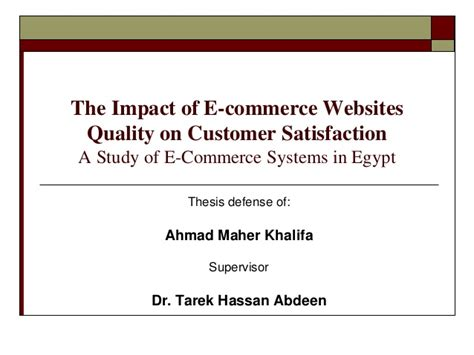 E Commerce Dissertation by Thesis Commerce Topics