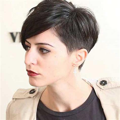 sophisticated short hair ideas  bangs short
