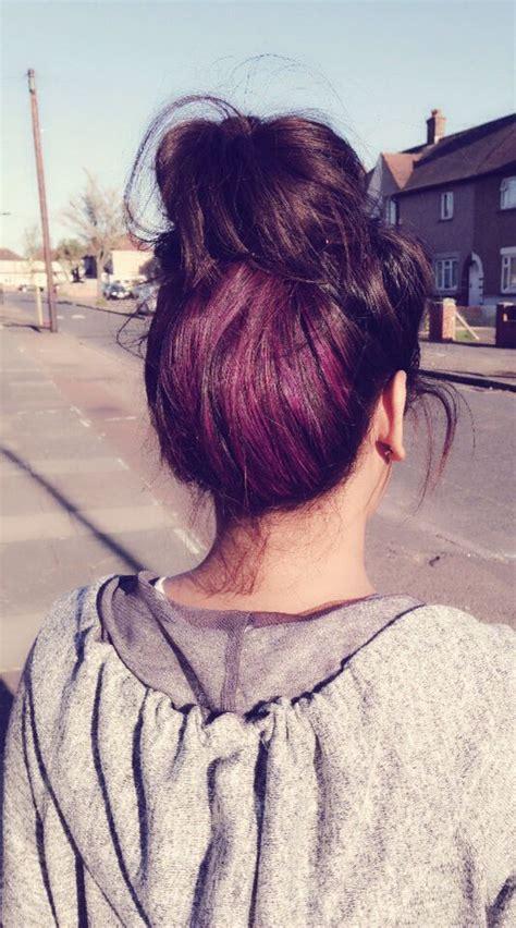 how to dye hair dark underneath 25 best ideas about underneath hair colors on pinterest