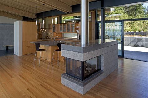 Fireplace Island by Fireplace Whidbey Island Cabin With