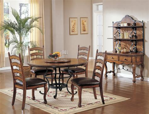 Tuscan Style Dining Tables Tuscan Dining Room Set Marceladick