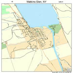 watkins glen new york map 3678696