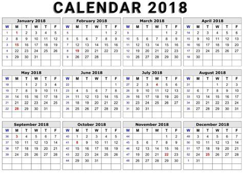 printable calendar doc printable calendar 2018 word document format