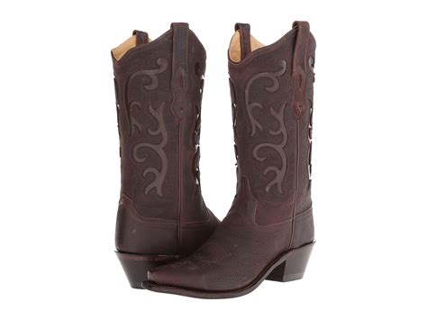 west boots lf1578 brown tumbled zappos free