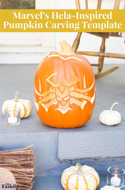 hela pumpkin carving disney family