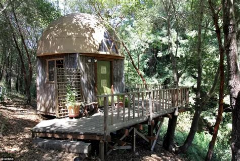 dome cabin kits inside the most popular property on airbnb the