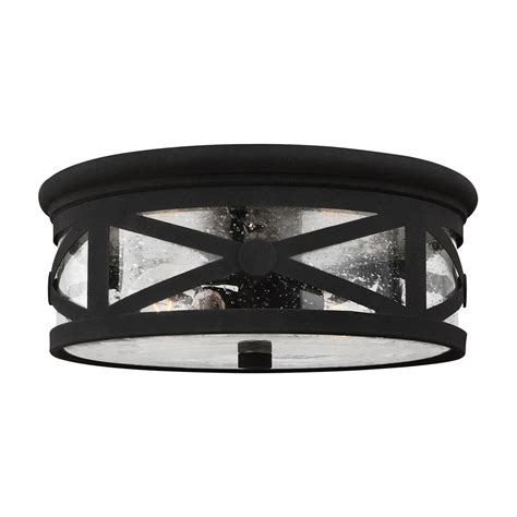 Outdoor Flush Mount Ceiling Light Sea Gull Lighting 7821402 Lakeview 2 Light Outdoor Ceiling Flush Mount Lowe S Canada