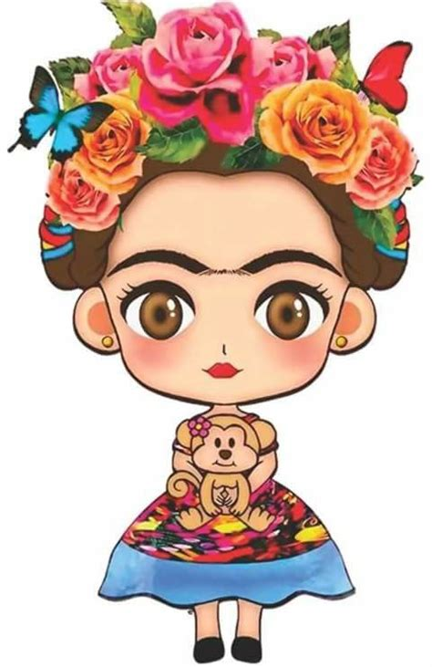 imagenes de frida kahlo kawaii pin by maryafeer on clips pinterest mexicans frida