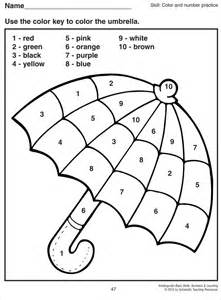 color by number kindergarten 25 best ideas about kindergarten coloring pages on
