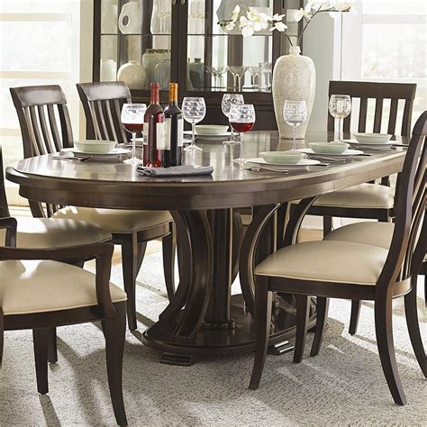 bernhardt dining room furniture bernhardt westwood oval double pedestal dining table with