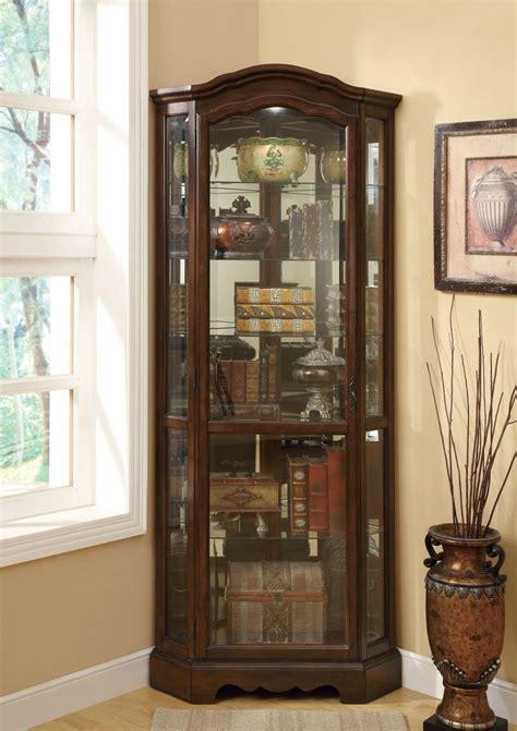 elegant corner curio cabinet ikea homes furniture ideas