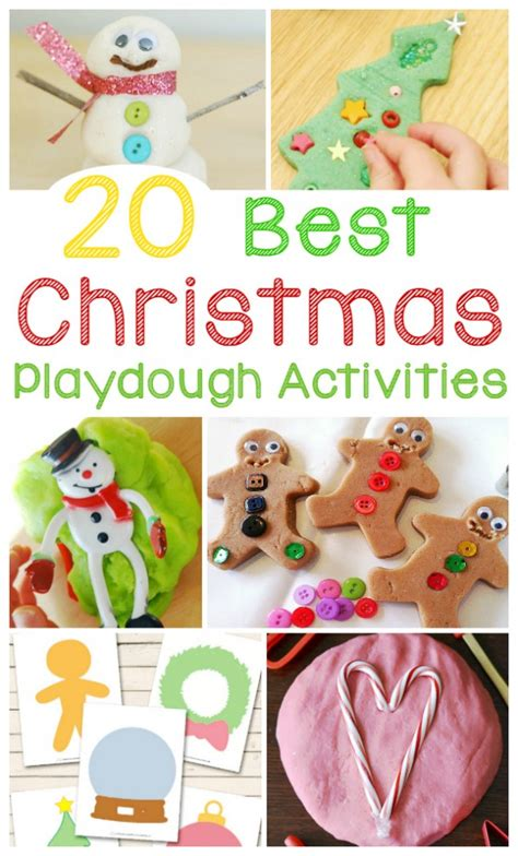 best christmas activities 20 best play dough activities and ideas