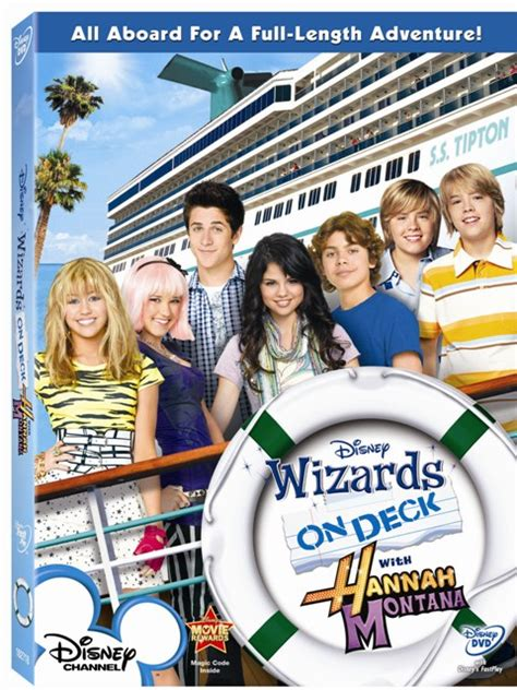 wizards on deck with montana montana dvd review jonas brothers dvd review