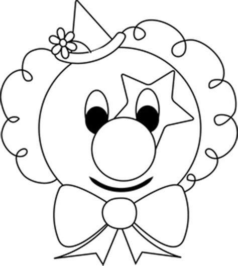 clown coloring pages pdf cartoon clown face clipart best