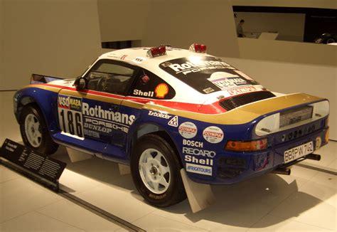 porsche dakar paris dakar 1986 porsche 959 motorsport retro