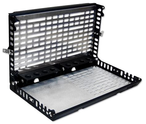 jeep tailgate storage warrior products 2230 tailgate storage system for 97