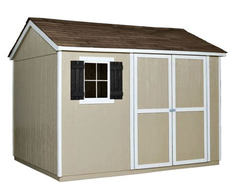 10 X 8 Shed Floor - handy home avondale 10x8 wood storage shed kit w floor