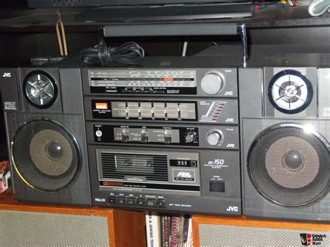 cassette player boombox jvc pc 150 portable radio cassette player boombox photo