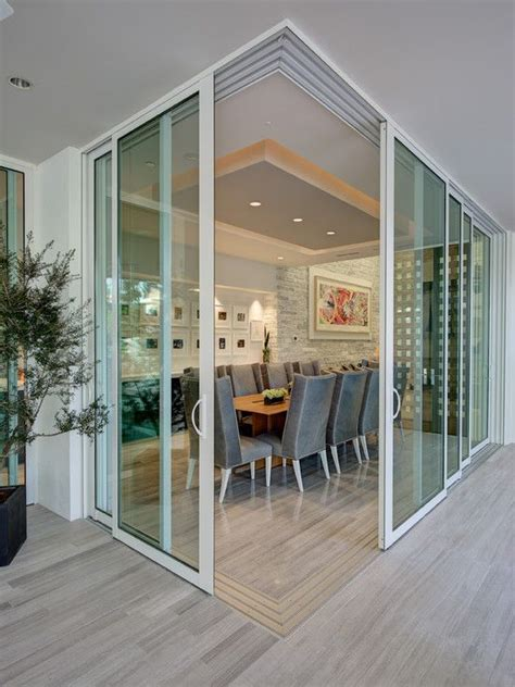 interior sliding glass dining room contemporary with white 26 best sign for septic toilet images on pinterest