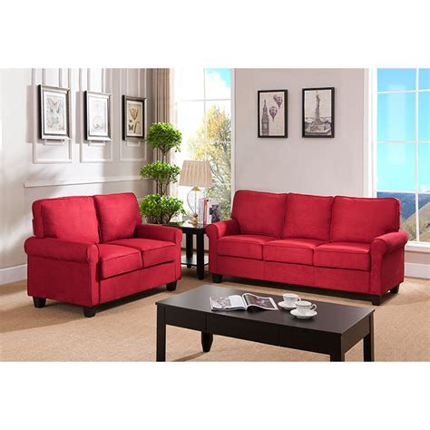 red couch studio red barrel studio ginther sofa wayfair