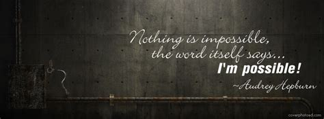 quotes theme wordpress nothing is impossible quote facebook covers wordpress theme