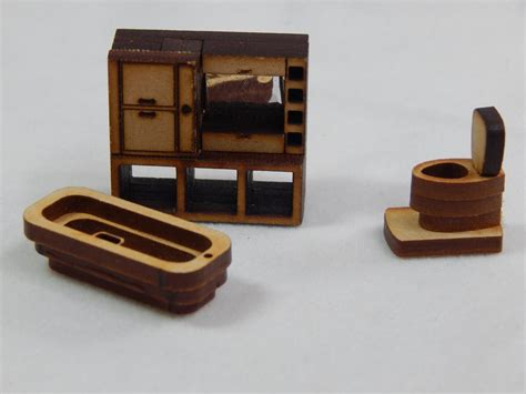 doll house scales dollhouse miniature scale bathroom set z295