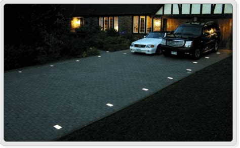 drive by lights outdoor lighting for concrete driveways courtyards patios