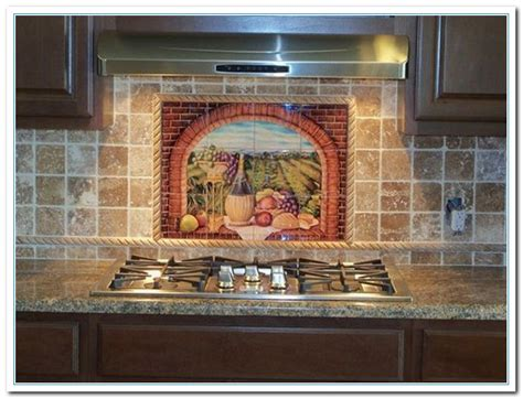 tuscan tile backsplash ideas ideas in tuscan backsplash home and cabinet reviews