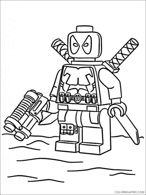 Lego Marvel Coloring Pages by Lego Marvel Heroes Coloring Pages Printable