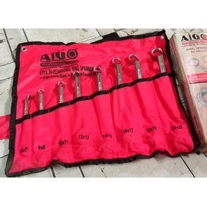 Diskon Kunci Ring Set Nankai 8 Pcs 6 22 jual beli aigo kunci ring set 75 8 pcs 6 22 mm baru