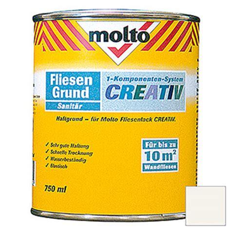 fliesenlack molto molto fliesenlack creativ wei 223 750 ml gl 228 nzend bauhaus