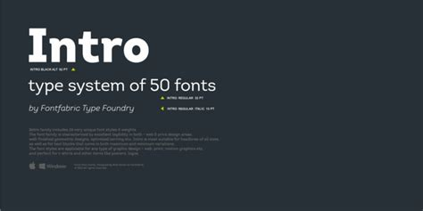 best web font top 50 fonts of 2016 designmodo