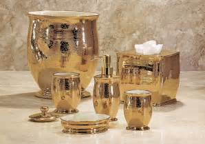 gold bathroom accessory sets home
