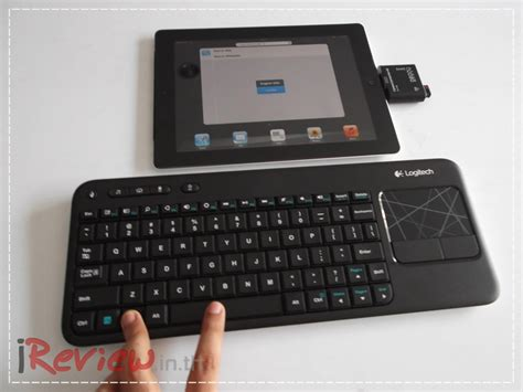 Dijamin Logitech Wireless Keyboard K400r ร ว ว logitech wireless touch keyboard k400r quot เบา อ ด ทน quot