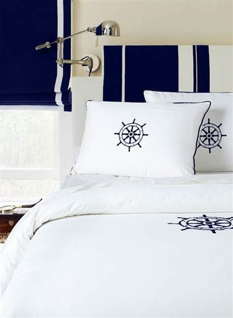 Bedding Sets Made In Usa Duvet Cotton Made In Usa Nautical Embroidery Montague Capulet Custom Personalized